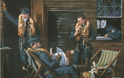 Exclusive Battle of Britain paintings by Mark Bromley