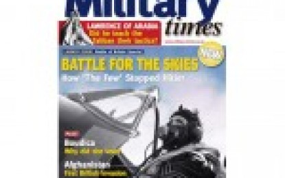 Military Times – Oct 2010