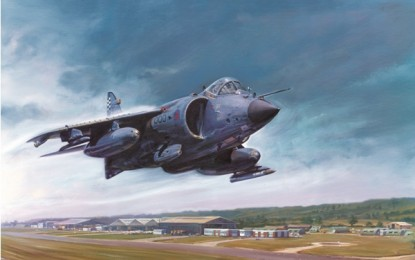 Exclusive Harrier image gallery by Mark Bromley