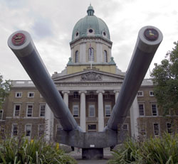 Car Bomb Goes on Display at the Imperial War Museum