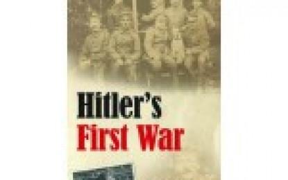 Hitler's First War by Thomas Weber