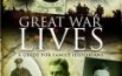 Great War Lives: A Guide for Family Historians – Paul Reed