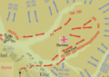 Map of the Battle of Maiwand – 27 July 1880