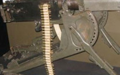 Machine Gun on the Western Front