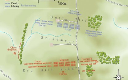 Battle of Naseby, 14th June 1645