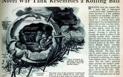 The Tumbleweed Tank – Back to the drawing board