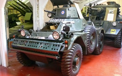 WMD – THE FERRET SCOUT CAR
