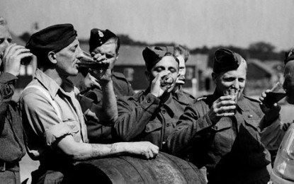 War Culture – Military Drinking