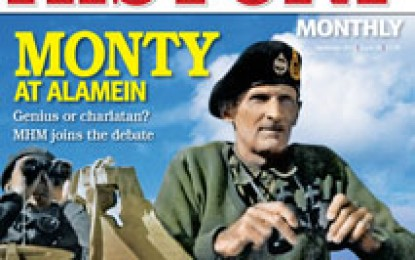 Military History Monthly – November 2012