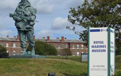 MUSEUM REVIEW – The Royal Marines Museum