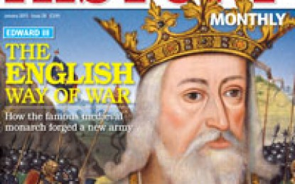 Military History Monthly – January 2013
