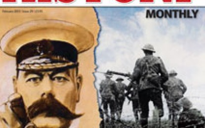 Military History Monthly – February 2013