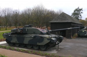10 Challenger Mk I guards Monty's Barn
