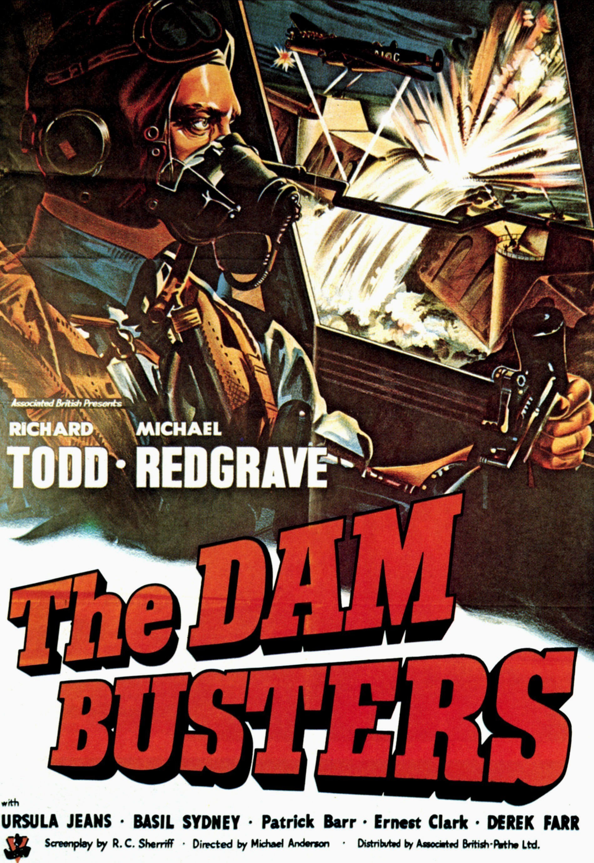 MOVIE POSTER THE DAM BUSTERS 1955 Military History Monthly