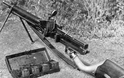 BACK TO THE DRAWING BOARD – Type 11 light machine-gun