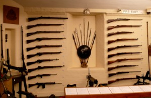 Rifle display