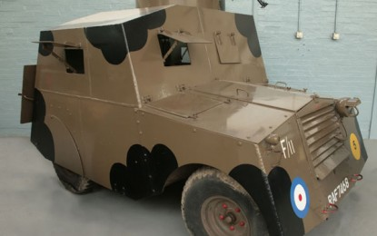 Back to the Drawing Board – 'Beaverette' armoured car