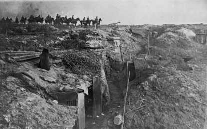 BEHIND THE IMAGE – Deserted Trench