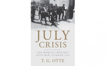 BOOK OF THE MONTH – July Crisis