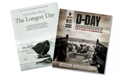 [Competition Closed] MHM Quiz: Win a copy of 'D-Day Remembered' AND 'The Longest Day: Collectors Edition'