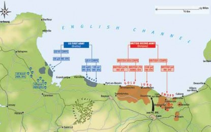 D-Day: Plan of Operations on 6 June, 1944