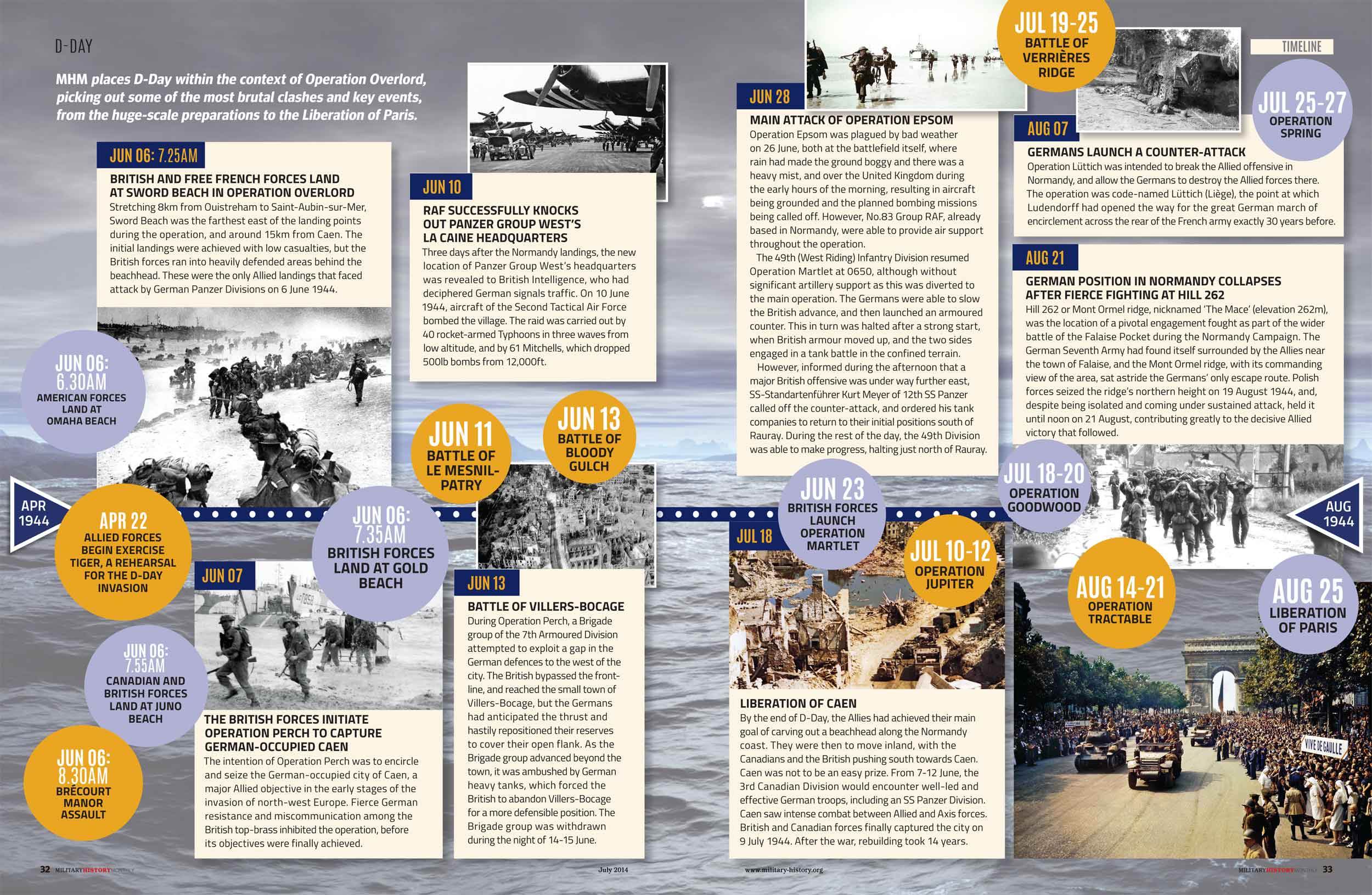a history of the d day The us army remembers june 6, 1944: the world war ii d-day invasion of normandy, france.