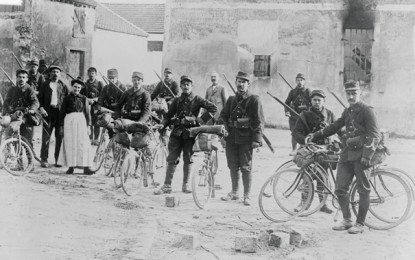 BEHIND THE IMAGE – L'infanterie Cycliste