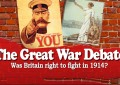 THE GREAT WAR DEBATE 2014 – Tickets now on sale!