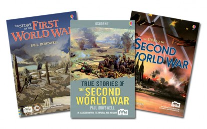 What can the children of today learn from WWI and WWII?