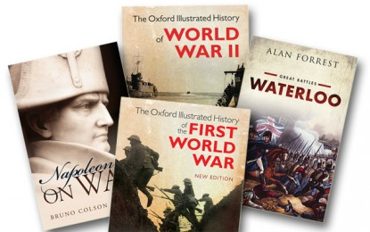 [Competition Closed] MHM Quiz: Win a selection of Oxford University Press military history books!