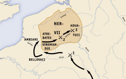 BATTLE MAPS: Caesar's Gallic War