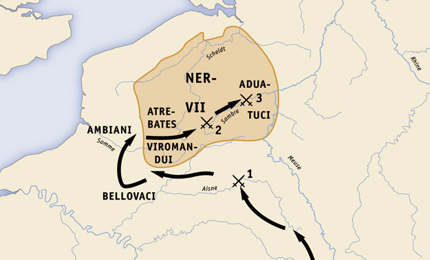 caesars gallic wars The gallic wars by julius caesar translated by w a mcdevitte and w s bohn  the gallic wars has been divided into the following sections:.