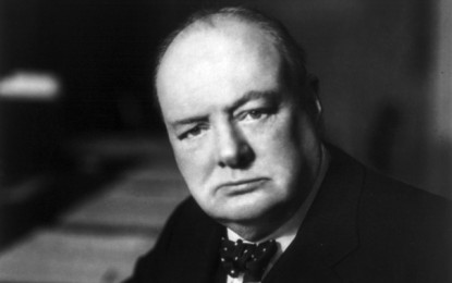 'THE FEW': Churchill's wartime speech