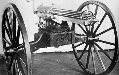 BRIEFING ROOM: The Gatling Gun