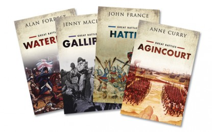 [Competition Closed] MHM Quiz: Win a set of the 'Great Battles' series