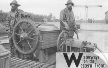 BOOK REVIEW: Waterways on the Western Front