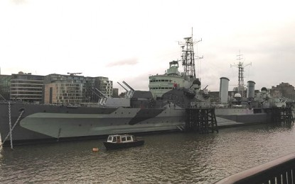 [Competition Closed] MHM Quiz: win tickets to HMS Belfast