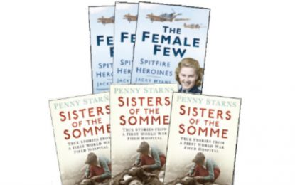 [Competition Closed] MHM Quiz: win copies of The Female Few by Jacky Hyams and Sisters of the Somme by Penny Starns.