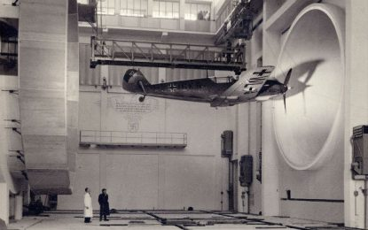 BEHIND THE IMAGE: Wind tunnel testing, Messerschmitt Bf 109, 1940