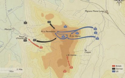 BATTLE MAPS: Battles of Monte la Difensa and Remetania