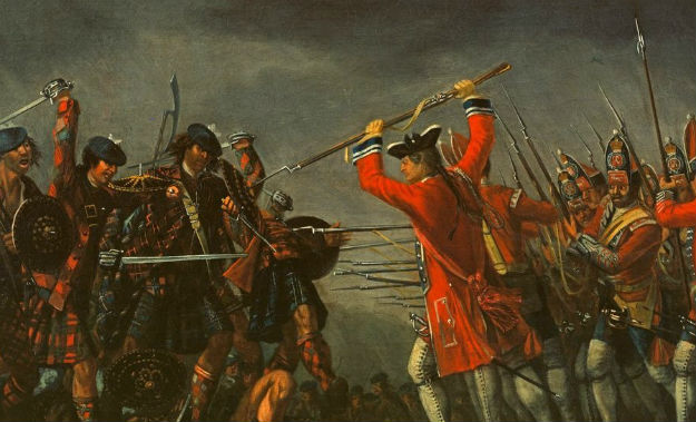 What happened at the battle of