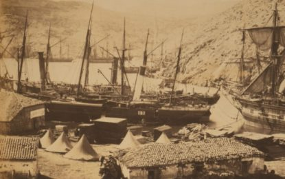 BEHIND THE IMAGE: COSSACK BAY, BALAKLAVA, 1855 BY ROGER FENTON