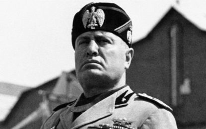 Mussolini's secret time-capsule