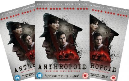 [Competition Closed] COMPETITION: Win a copy of Anthropoid on DVD!