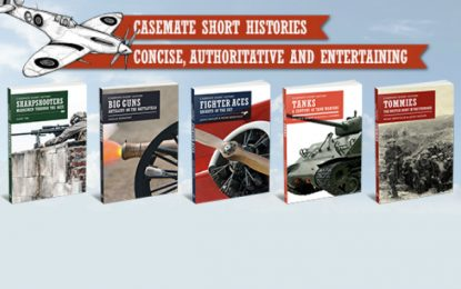 [Competition Closed} Win a set of five books from the Casemate Short Histories series