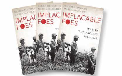MHM 83 Quiz: Win a copy of Implacable Foes by Waldo Heinrichs